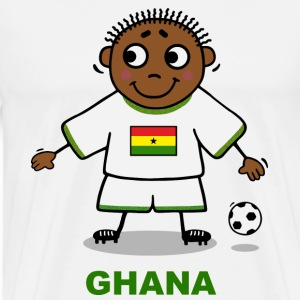 Football player - Ghana  T-Shirts - Men's Premium T-Shirt