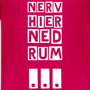nerv ned rum T-Shirts - Teenager Premium T-Shirt