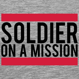 Soldier on a Mission logo T-Shirts - Men's Premium T-Shirt