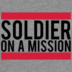 Soldier on a Mission logo T-Shirts - Women's Premium T-Shirt