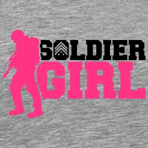 Soldier girl women girls General pink T-Shirts - Men's Premium T-Shirt