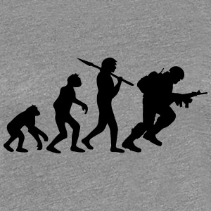 Soldier evolution monkey Warrior T-Shirts - Women's Premium T-Shirt