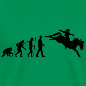 evolution_rodeo_062014_1c T-Shirts - Männer Premium T-Shirt