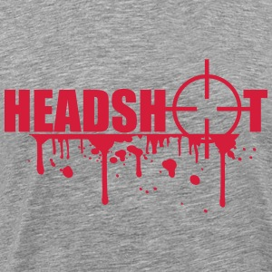 Boom Headshot Sniper Killer Blood T-Shirts - Men's Premium T-Shirt