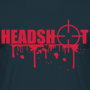 Boom Headshot Sniper Killer Blood T-Shirts - Men's T-Shirt