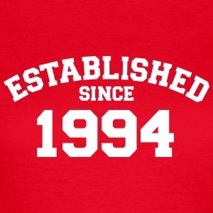 Established 1994 T-Shirts - Frauen T-Shirt