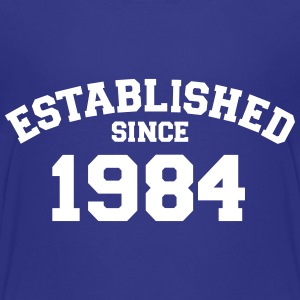 Established 1984 T-Shirts - Kinder Premium T-Shirt