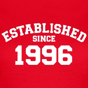 Established 1996 T-Shirts - Frauen T-Shirt
