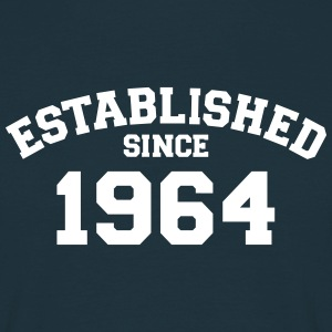 Established 1964 T-Shirts - Männer T-Shirt