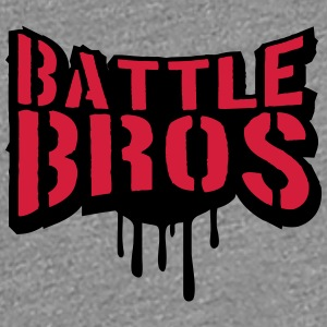 Battle Bros brüder Team Crew Squad stempel graffit T-Shirts - Frauen Premium T-Shirt