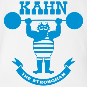 Kahn the Strongman T-Shirts - Baby Bio-Kurzarm-Body