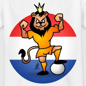 Oranje Leeuw Shirts - Teenager T-shirt