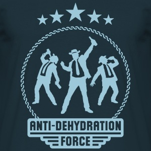 Anti-Dehydration Force (Bier Party Team) T-Shirts - Männer T-Shirt
