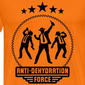 Anti-Dehydration Force (Bier Party Team) T-Shirts - Men's Premium T-Shirt