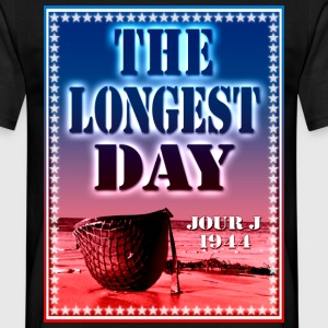 the longest day jour j 1944 Tee shirts - T-shirt Homme