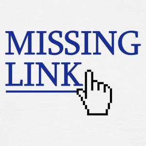 missing link - Herre-T-shirt