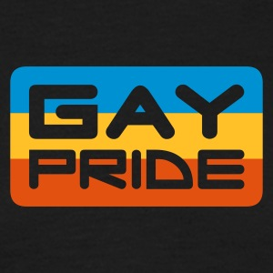 gay pride - T-skjorte for menn