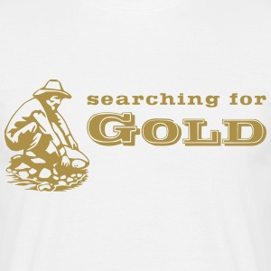 Goldschürfer / gold digger 3 T-Shirts - Men's T-Shirt