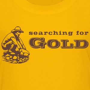 gold digger 3 T-Shirts - Teenager Premium T-Shirt