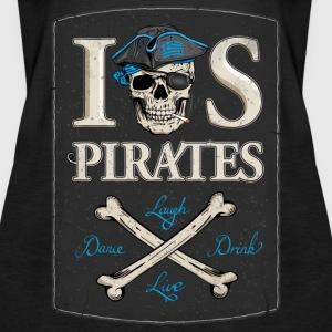 IOS Pirates Tank Top, Girls - Frauen Premium Tank Top