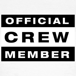 Official Crew Member T-shirts - Vrouwen T-shirt