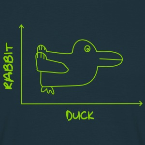 Duck'n Rabbit T-Shirts - Men's T-Shirt