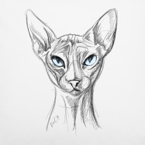 Cat with blue eyes Other - Pillowcase 40 x 40 cm