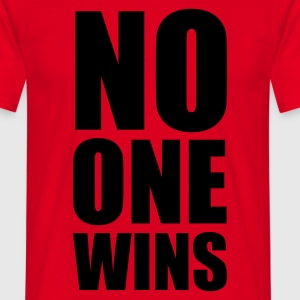 no one wins - Herre-T-shirt