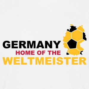 germany home of the weltmeister - Herre-T-shirt