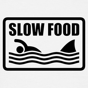 slow food  - Männer T-Shirt
