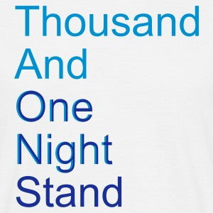 thousand and one night stand (2colors) - Maglietta da uomo
