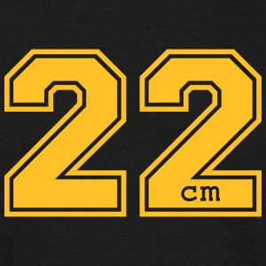 22 centimeter - Men's T-Shirt