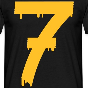 lucky number seven - Camiseta hombre