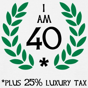 50 - 40 plus tax - Men's T-Shirt