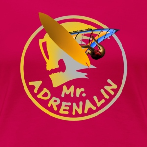 windsurfing Mr. Adrenalin T-Shirts - Frauen Premium T-Shirt