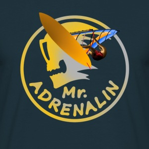 Mr. Adrenalin Windsurfing T-skjorter - T-skjorte for menn