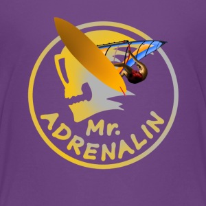 Mr. Adrenalin Windsurfing Shirts - Teenage Premium T-Shirt