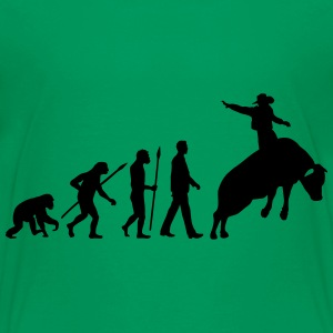 evolution_rodeo_bull_062014_1c T-Shirts - Teenager Premium T-Shirt