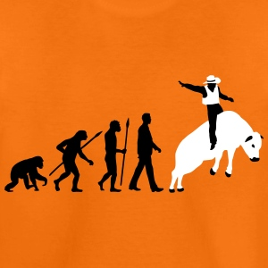 evolution_rodeo_bull_062014_2c T-Shirts - Teenager Premium T-Shirt