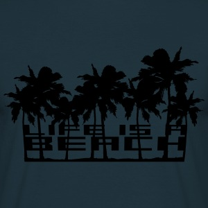 Life is a Beach palm beach sea sun T-Shirts - Men's T-Shirt