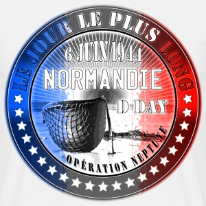 le jour le plus long normandie d day 1944 Tee shirts - T-shirt Homme
