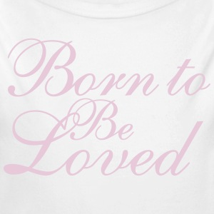 Born to Be Loved Pullover & Hoodies - Baby Bio-Langarm-Body