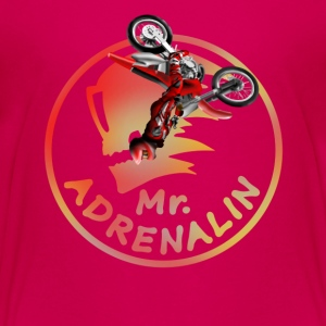 Motocross Mr. Adrenalin Shirts - Teenage Premium T-Shirt
