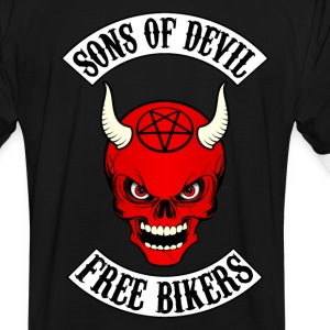 devil bikers T-Shirts - Men's Ringer Shirt