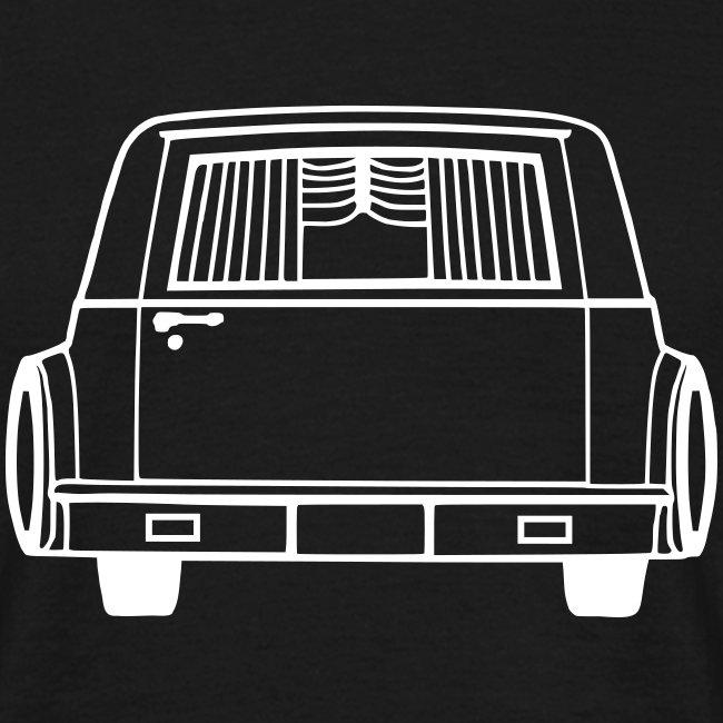 Leichenwagen - Heckansicht