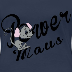 Power Maus T-Shirts - Frauen Premium T-Shirt
