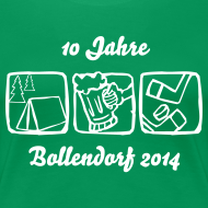 Motiv ~ 10 Jahre Bollendorf 2014 T-Shirt - Lady Version