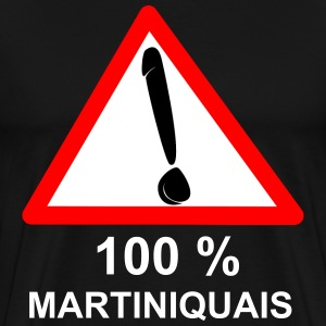 100% MARTINIQUAIS - T-shirt Premium Homme