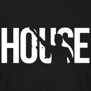 house T-shirts - Mannen T-shirt