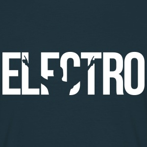 electro T-shirts - Mannen T-shirt